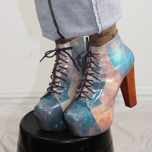 Intergalactic Jeffery Campbell Booties